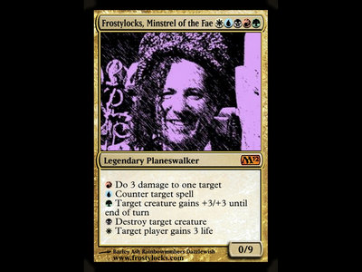 Frostylocks, Minstrel of the Fae Trading Card 1st Edition main photo