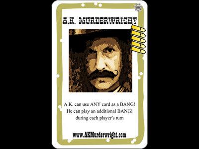A.K. Murderwright Trading Card main photo
