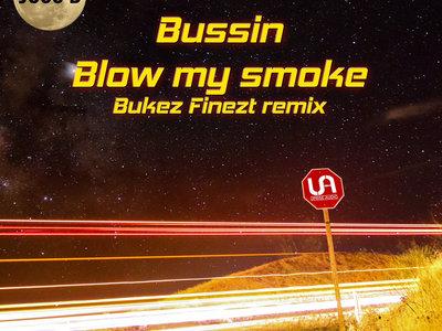 "Juss B - Bussin // Blow my smoke (Bukez Finezt remix) 10"" lathe cut dubplates with full colour art work sleeve - Limited edition of 50 main photo"