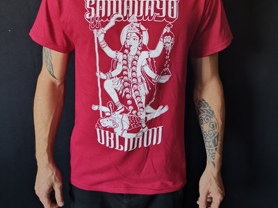"T-Shirt ""Kali cardinal and brighter red"" (Female & Male) main photo"