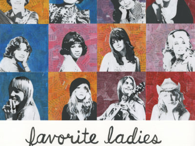 "2020 Calendar ""Favorite Ladies"" main photo"