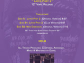 "Sacred Rhythm Music & Cosmic Arts Presents: Eqwel's "" Layer Part 2"" - 12"" Vinyl Release photo"