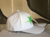 Radioactive Green / White Burd Brain Handstyles Flexfit (FREE POSTAGE) photo