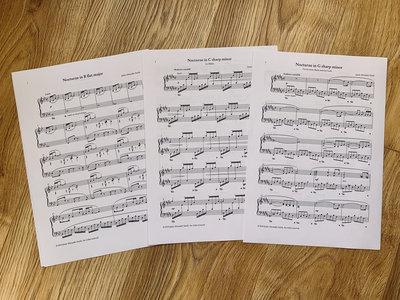 Nocturnes sheet music (PDF) main photo