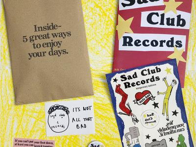 Limited Edition Sad Club Zine Pack main photo