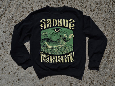 """""""In The Belly of The Beast"""" Sadhus X Filthy Fabric Crewneck Sweatshirt main photo"""