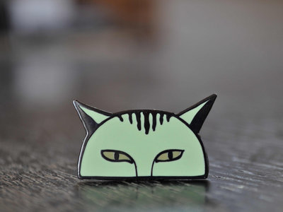 Marcel Le Chat Enamel Pin // Limited Edition of 50 main photo