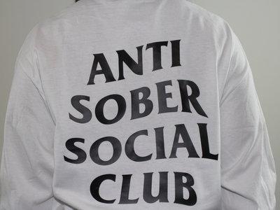 ✖ Privé Apparel ✖ Anti Sober Social Club LS blnc crew main photo