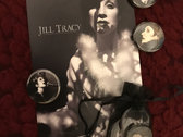 NEW! 3 Button Set with Autographed Photo Card photo