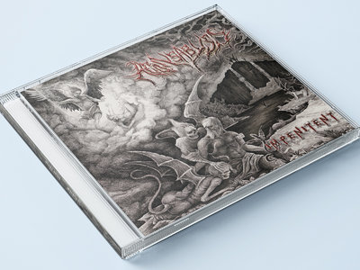 Aeons Abyss - Impenitent - Limited Release Jewel Case Compact Disc - release 1 November 2019 main photo
