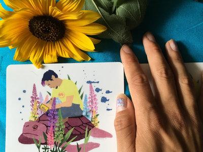 """""""Poems & Beats"""" Sticker main photo"""