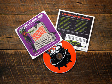 CD ONLY Halloween Compilation, 18 Bands, Limited Edition main photo