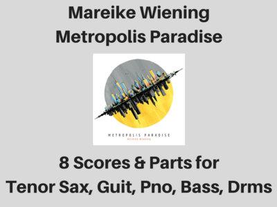 Mareike Wiening | Metropolis Paradise album | 8 Scores & Parts (PDF) main photo