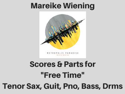 Mareike Wiening   Free Time   Score & Parts (PDF) main photo