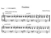 Mareike Wiening   Free Time   Score & Parts (PDF) photo