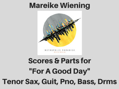 Mareike Wiening | For A Good Day | Score & Parts (PDF) main photo