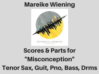 Mareike Wiening | Misconception | Score & Parts (PDF) main photo
