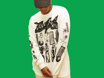 Black on White Long Sleeve main photo