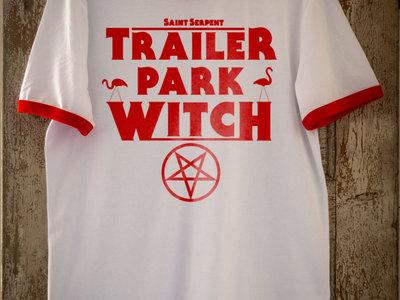 """Trailer Park Witch"" Ringer-T-Shirt main photo"
