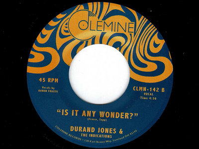 IS IT ANY WONDER - DURAND JONES & THE INDICATIONS main photo