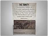 """The Trinity"" Collectible Card #3 (LIMITED EDITION) FREE Shipping World Wide photo"