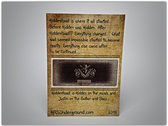 """""""HiddenRoad is.."""" Collectible Card #2 (LIMITED EDITION) FREE Shipping World Wide photo"""