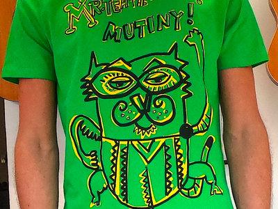 Unisex THTC Organic Cotton 'Mutiny' T-Shirt! main photo