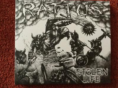 Rattus - Stolen Life CD main photo