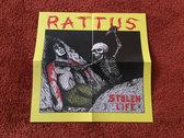 Rattus - Stolen Life CD photo