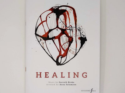 Healing - sheet music & art book main photo