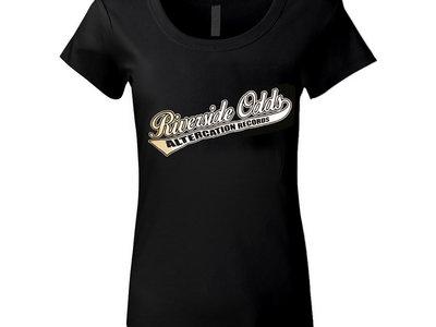 Babydoll Style Baseball logo T-Shirt main photo
