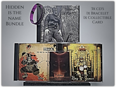 HRS Bundle - Limited Edition CD's, Bracelet, Collectible Card and More.. main photo
