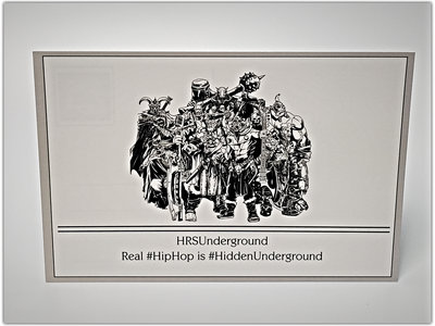 HRSUnderground Post Cards (pack of 5) main photo