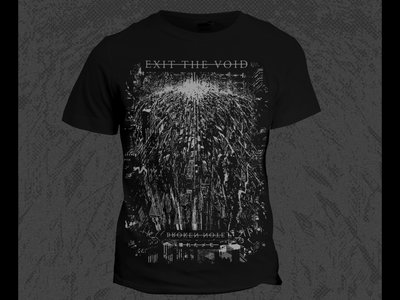 Exit The Void - T-Shirt - Black/White main photo