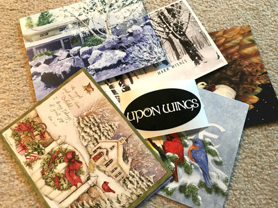 Physical Upon Wings Holiday card - personalized! main photo