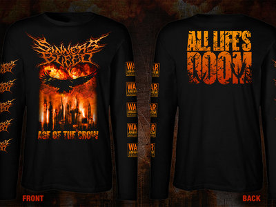 "pre-order: SINNERS BLEED ""Age Of The Crow"" Longsleeve Shirt main photo"