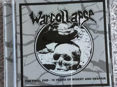 Warcollapse - The Final End CD main photo