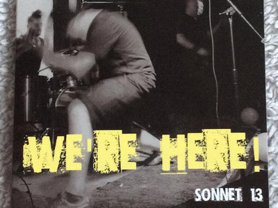 Sonnet 13 - We're Here CD main photo