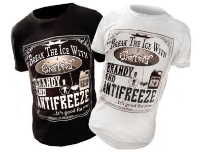 BRANDY AND ANTIFREEZE Unisex T-Shirt (Black or White) main photo