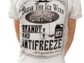 BRANDY AND ANTIFREEZE Unisex T-Shirt (Black or White) photo