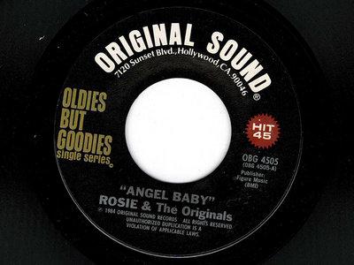 ANGEL BABY - ROSIE & THE ORIGINALS - RE main photo