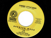 I THINK YOU GOT YOUR FOOLS MIXED UP / GIMMIE A LITTLE SIGN - BRENTON WOOD photo