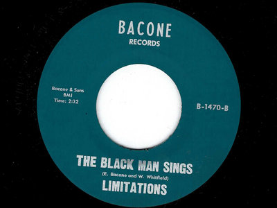 THE BLACK MAN SINGS / TROUBLE - THE LIMITATIONS main photo