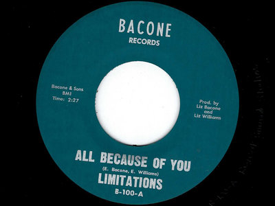 ALL BECAUSE OF YOU / MY BABY - THE LIMITATIONS main photo