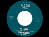 ALL BECAUSE OF YOU / MY BABY - THE LIMITATIONS photo