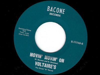 MOVIN MOVIN ON / MY MY MY BABY - THE VOLTAIRE'S main photo