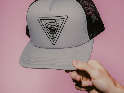 Upward Spiral Trucker Hat (Grey) main photo