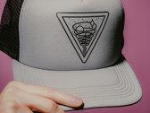 Upward Spiral Trucker Hat (Grey) photo
