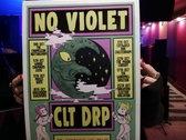 No Violet/CLT DRP Tour Poster Limited Edition photo