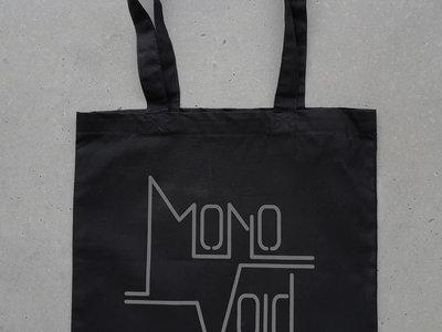 "REFLECTIVE Organic Cotton Tote Bag ""Mono Void"" main photo"